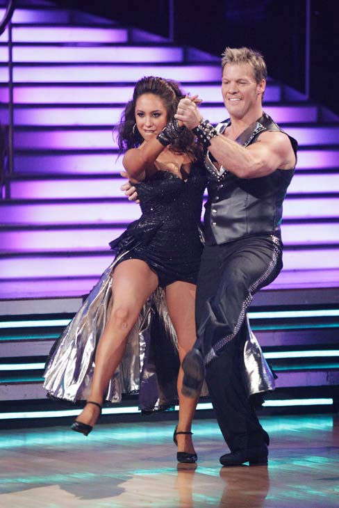 Chris Jericho and his partner Cheryl Burke received 22 out of 30 from the judges for their Tango on week six of 'Dancing With The Stars.'