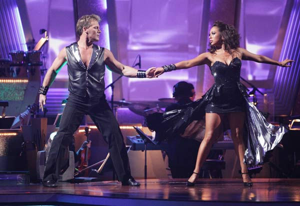 "<div class=""meta ""><span class=""caption-text "">Chris Jericho and his partner Cheryl Burke received 22 out of 30 from the judges for their Tango on week six of 'Dancing With The Stars.' (ABC Photo/ Adam Taylor)</span></div>"