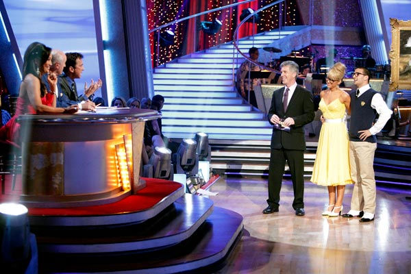 "<div class=""meta ""><span class=""caption-text "">Chelsea Kane and her partner Mark Ballas received 28 out of 30 from the judges for their Quickstep on week six of 'Dancing With The Stars.' (ABC Photo/ Adam Taylor)</span></div>"