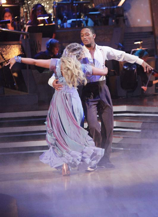 "<div class=""meta ""><span class=""caption-text "">DANCING WITH THE STARS - ""Episode 1206"" - ""Dancing with the Stars"" celebrated Guilty Pleasures Night as each of the seven remaining couples competed -- with either a latin or ballroom style they had yet to perform -- set to the tunes of some of their favorite musical ""guilty pleasures."" Monday night's show also featured the first-ever Monday night performance by a live band when pop music sensations HANSON sang their fan favorite, ""MmmBop,"" MONDAY, APRIL 25 (8:00-9:31 p.m., ET) on The ABC Television Network.  (ABC/ADAM TAYLOR) CHELSIE HIGHTOWER, ROMEO (ABC Photo/ Adam Taylor)</span></div>"