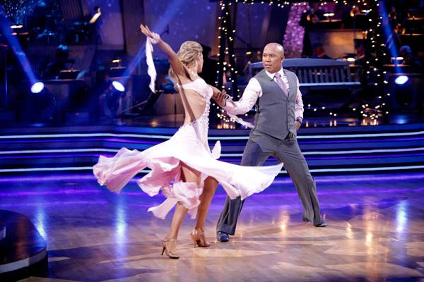 Romeo and his partner Chelsie Hightower received 28 out of 30 from the judges for their Waltz on week six of &#39;Dancing With The Stars.&#39;  <span class=meta>(ABC Photo&#47; Adam Taylor)</span>