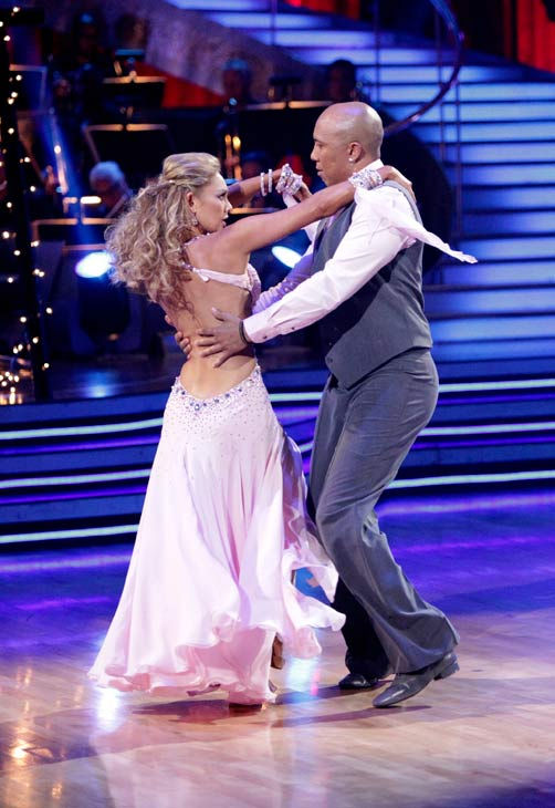 "<div class=""meta image-caption""><div class=""origin-logo origin-image ""><span></span></div><span class=""caption-text"">Romeo and his partner Chelsie Hightower received 28 out of 30 from the judges for their Waltz on week six of 'Dancing With The Stars.'  (ABC Photo/ Adam Taylor)</span></div>"