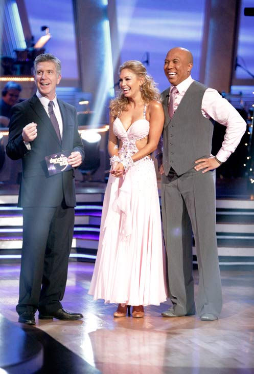 "<div class=""meta ""><span class=""caption-text "">Romeo and his partner Chelsie Hightower received 28 out of 30 from the judges for their Waltz on week six of 'Dancing With The Stars.'  (ABC Photo/ Adam Taylor)</span></div>"
