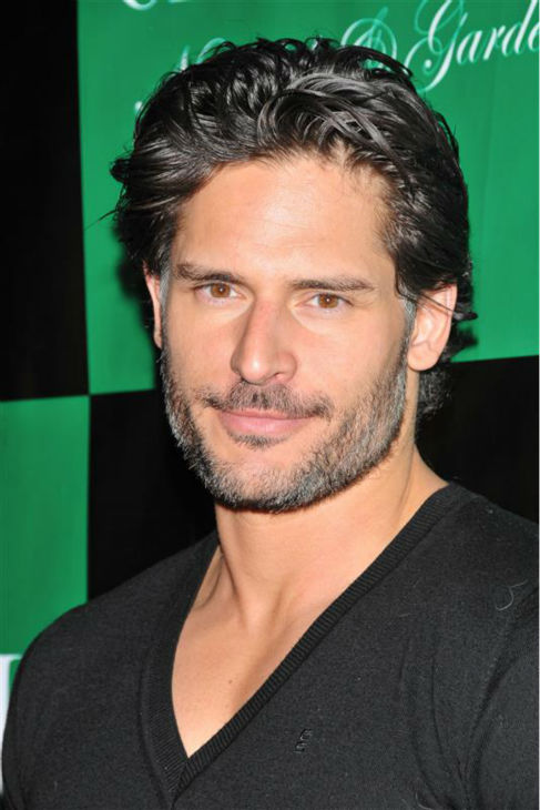 The &#39;A-God-Among-Goddesses&#39; stare: Joe Manganiello appears at a party hosted by Charlie Sheen at the Chateau Nightclub and Gardens in Las Vegas on April 30, 2011. <span class=meta>(Dave Proctor &#47; Startraksphoto.com)</span>