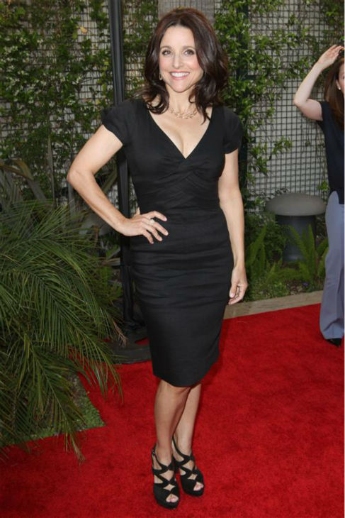 Julia Louis-Dreyfus appears at the Geffen Playhouse&#39;s 2011 fundraiser at the Geffen in Los Angeles on May 2, 2011. <span class=meta>(Norman Scott &#47; Startraksphoto.com)</span>