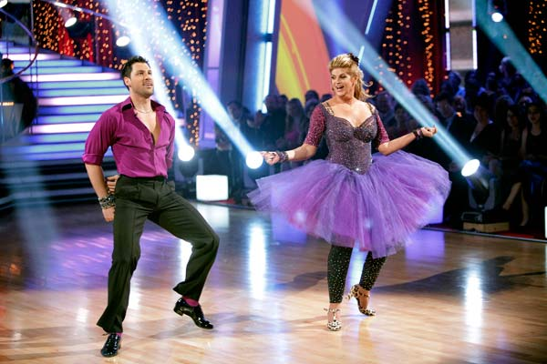 "<div class=""meta image-caption""><div class=""origin-logo origin-image ""><span></span></div><span class=""caption-text"">Kirstie Alley and her partner Maksim Chmerkovskiy dance Jive on week seven of 'Dancing With The Stars.' The couple received a 30 out of 40 from the judges. The two also scored a 30 out of 40 for their team Cha Cha, making their score a total of 60 out of 80. (ABC Photo/ Adam Taylor)</span></div>"