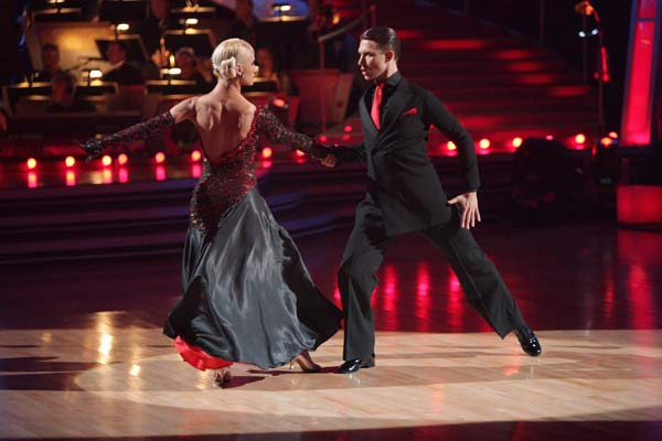 &#39;Dancing with the Stars&#39; celebrated &#39;Ballroom Greats&#39; week on Monday, May 2, 2011. &#40;Pictured: ARUNA BIZOKAS, KATUSHA DEMIDOVA&#41; <span class=meta>(ABC Photo&#47; Adam Taylor)</span>