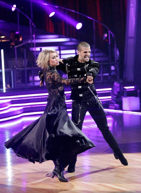 Chelsea Kane and her partner Mark Ballas received 34 out of 40 from the judges for their Paso Doble on week seven of &#39;Dancing With The Stars.&#39; The two also scored a 30 out of 40 for their team Cha Cha, making their score a total of 64 out of 80. <span class=meta>(ABC Photo&#47; Adam Taylor)</span>