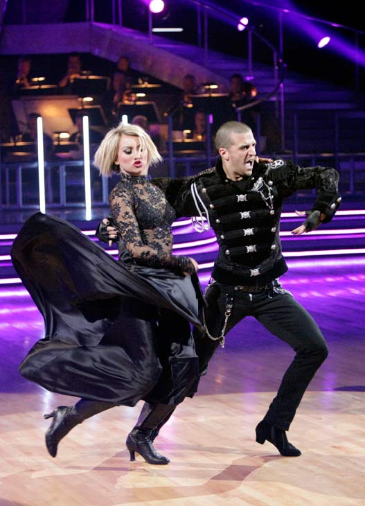 "<div class=""meta ""><span class=""caption-text "">Chelsea Kane and her partner Mark Ballas received 34 out of 40 from the judges for their Paso Doble on week seven of 'Dancing With The Stars.' The two also scored a 30 out of 40 for their team Cha Cha, making their score a total of 64 out of 80. (ABC Photo/ Adam Taylor)</span></div>"