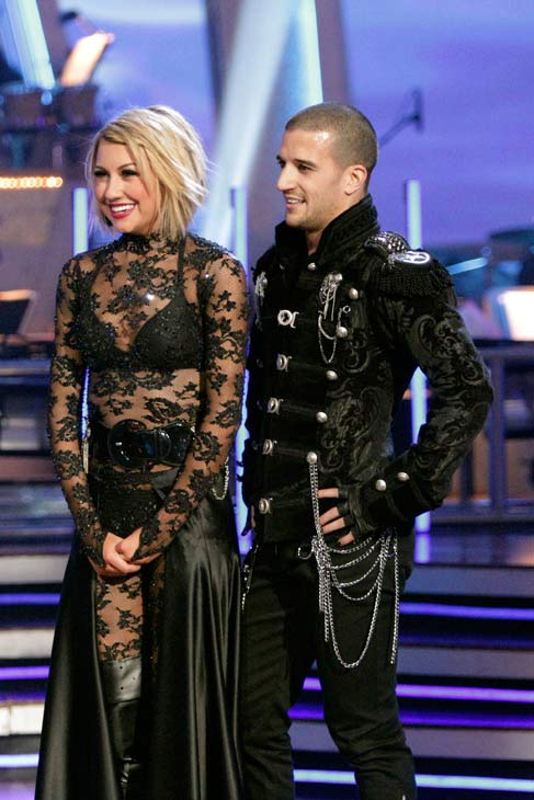 Chelsea Kane and her partner Mark Ballas...