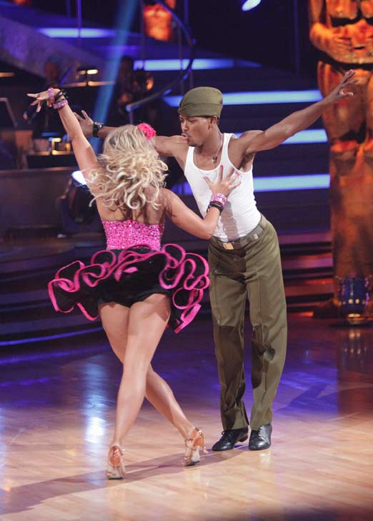 "<div class=""meta ""><span class=""caption-text "">Romeo and his partner Chelsie Hightower received 30 out of 40 from the judges for their Samba on week seven of 'Dancing With The Stars.' The two also scored a 30 out of 40 for their team Cha Cha, making their score a total of 60 out of 80.  (ABC Photo/ Adam Taylor)</span></div>"
