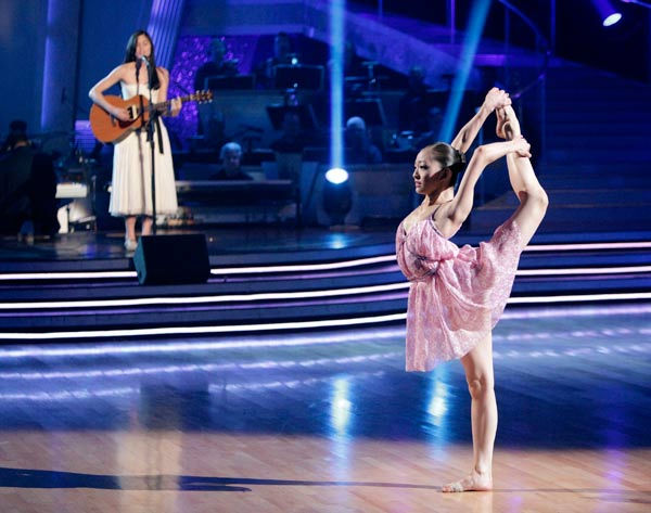 17-year-old ballerina Patricia Zhou was featured in the 'Spotlight Segment.' Patricia currently studies at the prestigious Kirov Academy of Ballet and has just been accepted at the Royal Ballet.