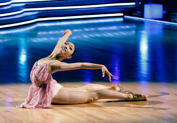 "<div class=""meta ""><span class=""caption-text "">17-year-old ballerina Patricia Zhou was featured in the 'Spotlight Segment.' Patricia currently studies at the prestigious Kirov Academy of Ballet and has just been accepted at the Royal Ballet.  (ABC Photo/ Adam Taylor)</span></div>"