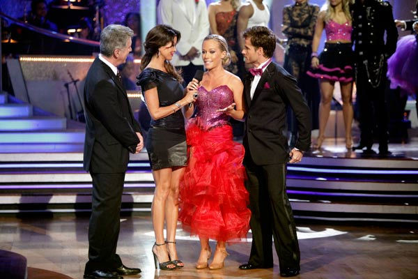 "<div class=""meta image-caption""><div class=""origin-logo origin-image ""><span></span></div><span class=""caption-text"">Kendra Wilkinson and her partner Louis van Amstel react to being eliminated from ABC's hit ballroom dancing competition series on Tuesday, May 3, 2011. The pair received 31 out of 40 from the judges for their Tango on week seven of 'Dancing With The Stars.' The two also scored a 30 out of 40 for their team Cha Cha, making their score a total of 61 out of 80. (ABC Photo/ Adam Taylor)</span></div>"