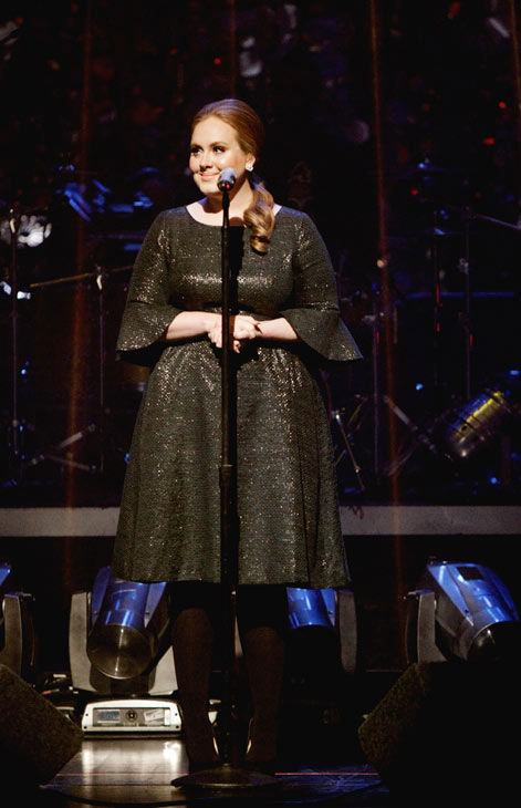 Grammy Award-winning artist Adele takes the...