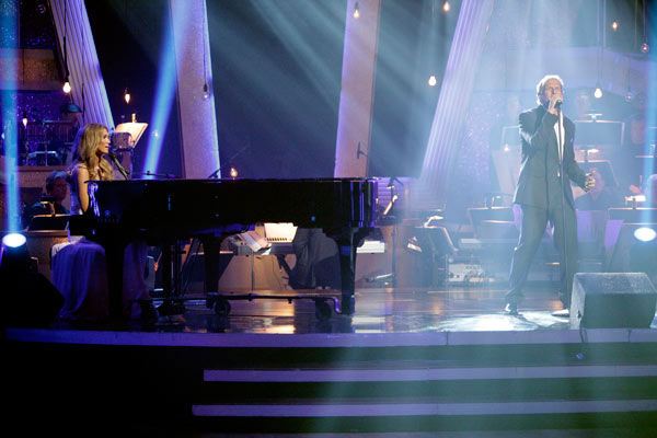 "<div class=""meta image-caption""><div class=""origin-logo origin-image ""><span></span></div><span class=""caption-text"">Season 11 ""Dancing With The Stars"" celebrity alum Michael Bolton performed duet with Australian singer Delta Goodrem. The two sang ""I'm Not Ready"" from his new album, ""Gems -- The Duets Collection,"" which hits stores on June 21. ""Dancing With The Stars"" pros while Anna Trebunskaya and Dmitry Chaplin accompanied them on the dance floor.  (ABC Photo/ Adam Taylor)</span></div>"