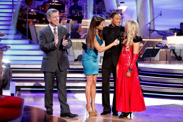 "<div class=""meta image-caption""><div class=""origin-logo origin-image ""><span></span></div><span class=""caption-text"">Romeo and his partner Chelsie Hightower react to being eliminated. The couple received 27 out of 30  for their Argentine Tango and 25 points out of 30 for their Salsa, making their score a total of 52  out of 60 on week eight of 'Dancing With The Stars' on Monday, May 10, 2011.  (ABC Photo/ Adam Taylor)</span></div>"