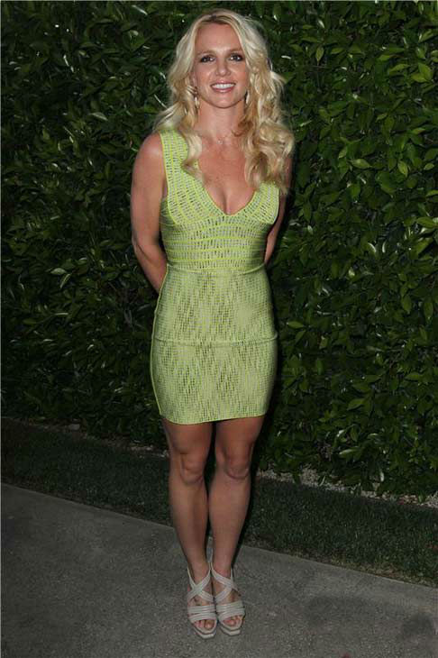 Britney Spears appears at the St. Bernard Project Benefit Dinner Party in Los Angeles, California on May 11, 2011.  <span class=meta>(Norman Scott &#47; startraksphoto.com)</span>