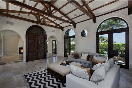 Anna Kournikova's Miami Beach home. The...