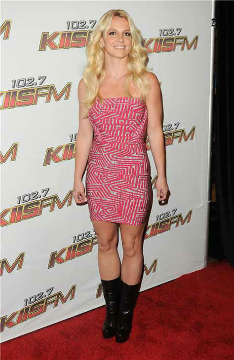 Britney Spears appears at 102.7 KIIS FM&#39;s Wango Tango concert in Los Angeles, California on May 14, 2011.  <span class=meta>(Sara De Boer &#47; startraksphoto.com)</span>