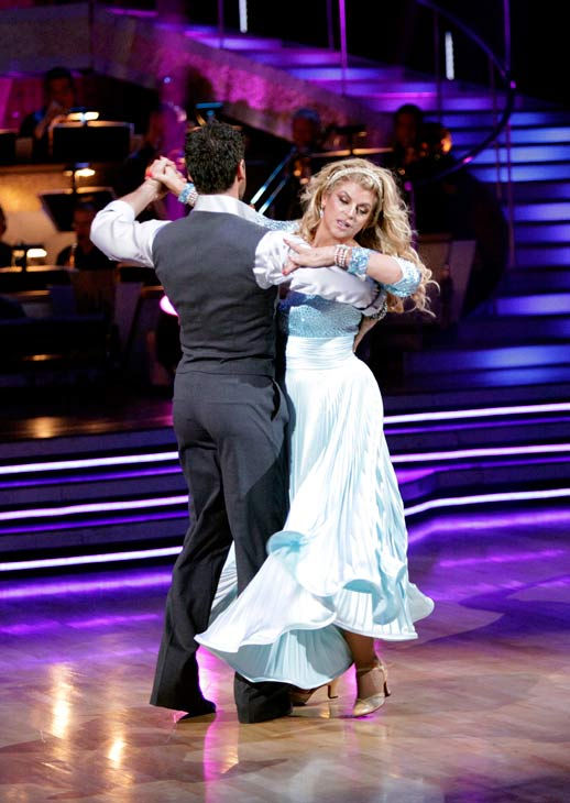 Kirstie Alley and her partner Maksim Chmerkovskiy dance a Vienese Waltz, a Paso Doble and an Instant Cha Cha on week nine of 'Dancing With The Stars.' The judges gave the couple 27 out of 30 for their Vienese Waltz and 27 points out of 30 for their Paso D