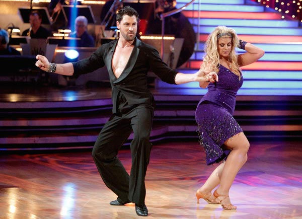 "<div class=""meta image-caption""><div class=""origin-logo origin-image ""><span></span></div><span class=""caption-text""> Kirstie Alley and her partner Maksim Chmerkovskiy dance a Vienese Waltz, a Paso Doble and an Instant Cha Cha on week nine of 'Dancing With The Stars.' The judges gave the couple 27 out of 30 for their Vienese Waltz and 27 points out of 30 for their Paso Doble. The couple earned a total of 54 out of 60.   (Photo/Adam Taylor)</span></div>"