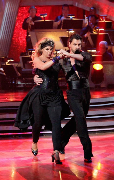 "<div class=""meta ""><span class=""caption-text ""> Kirstie Alley and her partner Maksim Chmerkovskiy dance a Vienese Waltz, a Paso Doble and an Instant Cha Cha on week nine of 'Dancing With The Stars.' The judges gave the couple 27 out of 30 for their Vienese Waltz and 27 points out of 30 for their Paso Doble. The couple earned a total of 54 out of 60.   (Photo/Adam Taylor)</span></div>"