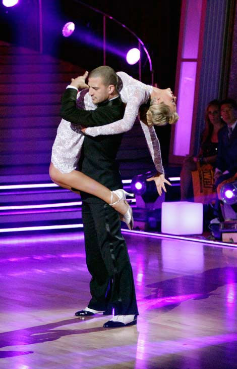 Chelsea Kane and her partner Mark Ballas dance an Argentine Tango, a Rumba and an Instant Cha Cha on week nine of 'Dancing With The Stars.' The judges gave the couple 28 out of 30 for their Argentine Tango and 30 points out of 30 for their Rumba. The coup