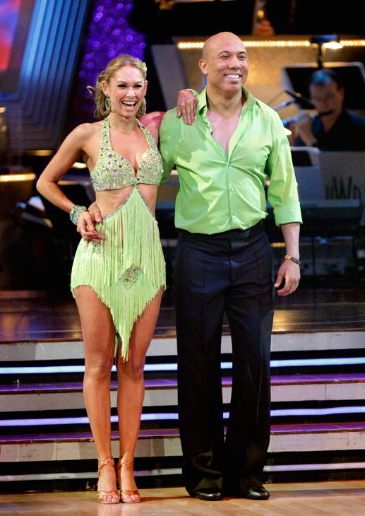 Hines Ward and his partner Kym Johnson dance a Tango, a Salsa and an Instant Cha Cha on week nine of 'Dancing With The Stars.' The judges gave the coupl
