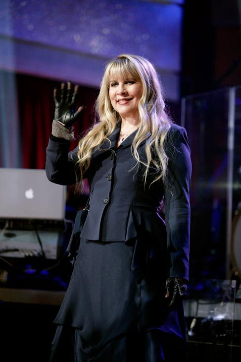 Grammy Award-winning singer Stevie Nicks...