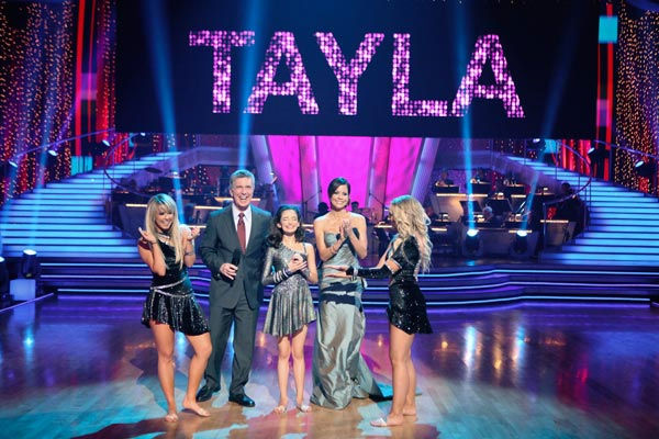 This week&#39;s &#39;Spotlight Segment&#39; featured 13-year-old Tayla Kelley, who was born with Primary Immune Deficiency Disease. Kelley has spent her entire childhood unable to fight infection, which has led to multiple surgeries, organ failure and shortened life expectancy.  She performed to &#39;Bulletproof&#39; with &#39;Dancing With The Stars&#39; pros Lacey Schwimmer and Chelsie Hightower.  <span class=meta>(ABC Photo&#47; Adam Taylor)</span>
