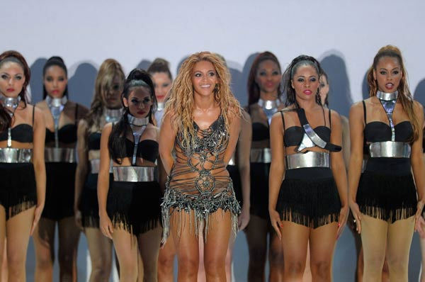 Beyonce performs at the 2011 Billboard Music Awards in Las Vegas on Sunday, May 22, 2011. The singer was honored with the Millennium Award.