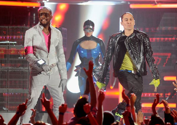 "<div class=""meta image-caption""><div class=""origin-logo origin-image ""><span></span></div><span class=""caption-text"">The Black Eyed Peas perform at the 2011 Billboard Music Awards in Las Vegas on Sunday, May 22, 2011. (ABC Photo/ Ethan Miller)</span></div>"