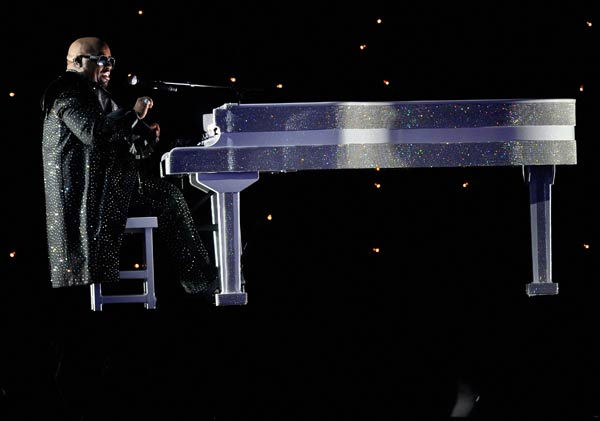 Cee Lo Green performs at the 2011 Billboard Music Awards in Las Vegas on Sunday, May 22, 2011.