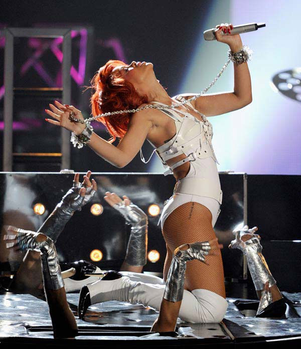 Rihanna performs at the 2011 Billboard Music Awards in Las Vegas on Sunday, May 22, 2011. <span class=meta>(ABC Photo&#47; Ethan Miller)</span>