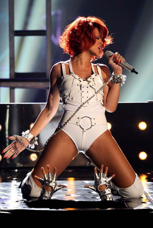 Rihanna performs at the 2011 Billboard Music...