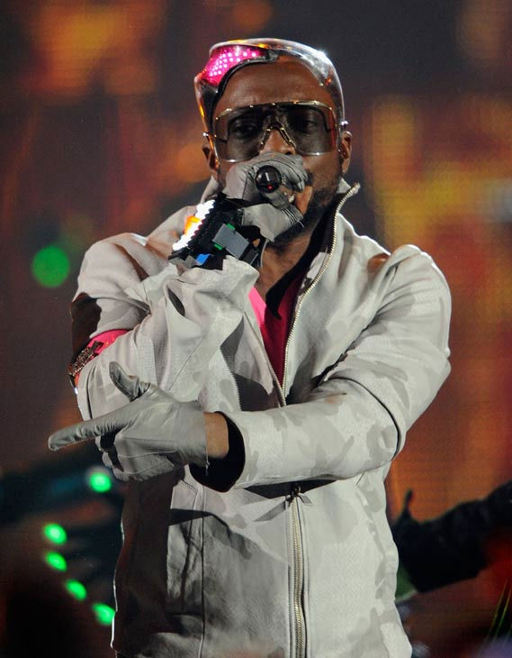 The Black Eyed Peas perform at the 2011...