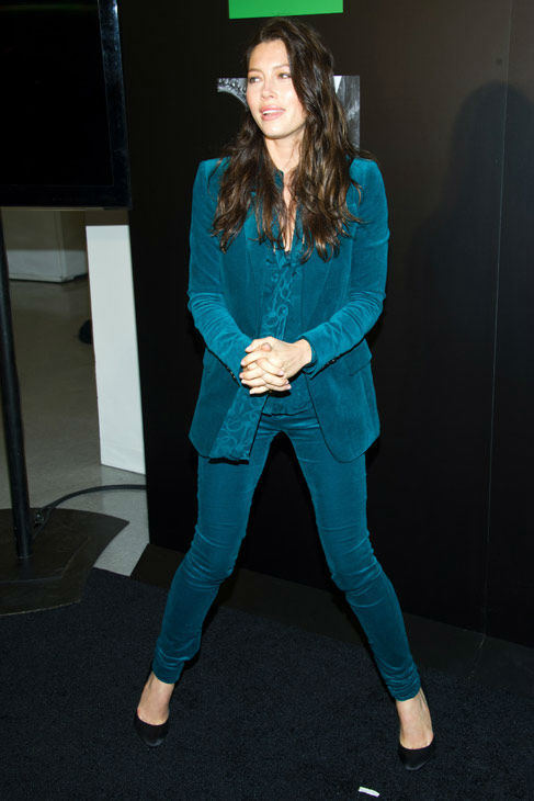Jessica Biel attends the launch of Revlons new...