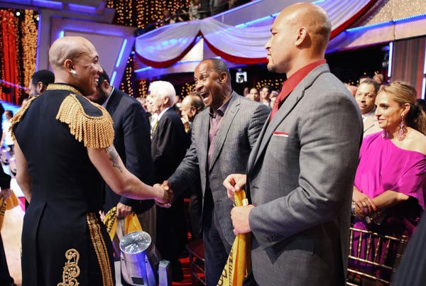 Hines Ward and Lynn Swann appear on 'Dancing...