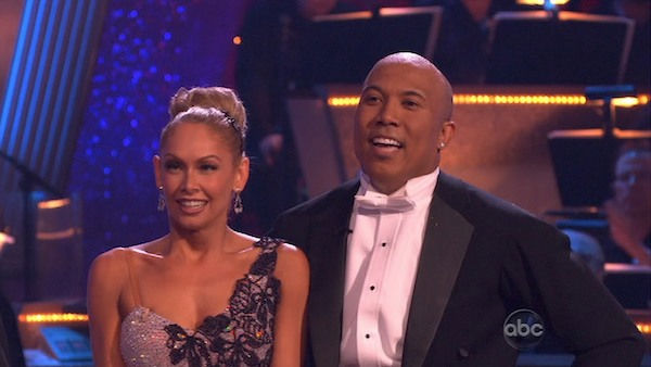 "<div class=""meta image-caption""><div class=""origin-logo origin-image ""><span></span></div><span class=""caption-text"">Hines Ward and his partner Kym Johnson dance a Quickstep and a Freestyle dance on week ten of 'Dancing With The Stars.' The judges gave the couple 29 out of 30 for their Quickstep and 30 points out of 30 for their Freestyle. The couple earned a total of 59 out of 60. (OTRC Photo)</span></div>"
