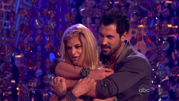 Kirstie Alley and her partner Maksim Chmerkovskiy performed their favorite dance -- a Cha Cha on Tuesday. The judges gave the couple 30 out of 30. With their scores from Monday, the couple earned a total of 84 out of 90.