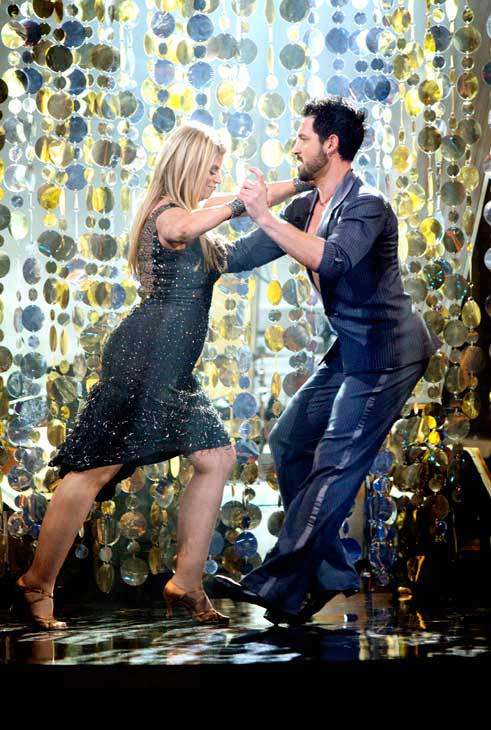 "<div class=""meta ""><span class=""caption-text "">Kirstie Alley and her partner Maksim Chmerkovskiy performed their favorite dance -- a Cha Cha on Tuesday. The judges gave the couple 30 out of 30. With their scores from Monday, the couple earned a total of 84 out of 90. (OTRC Photo)</span></div>"