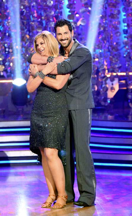 Kirstie Alley and her partner Maksim Chmerkovskiy performed their favorite dance -- a Cha Cha on Tuesday. The judges gave the couple 30 out of 30. With their scores from Monday, the couple earned a total of 84 out of 90. <span class=meta>(OTRC Photo)</span>