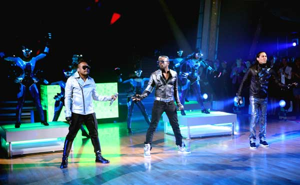 The Black Eyed Peas stopped by to perform their new single, 'Don't Stop the Party,' live on the 'Dancing With The Stars' season 12 finale on May 24, 2011.