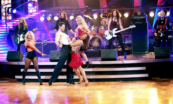 "<div class=""meta image-caption""><div class=""origin-logo origin-image ""><span></span></div><span class=""caption-text"">The Go-Go's had their first television performance together in over five years on Tuesday night's 'Dancing With The Stars' season 12 finale on May 24, 2011. The group performed 'We Got the Beat' as part of Macy's Design-a-Dance fan favorite Jive song pick. (OTRC Photo)</span></div>"