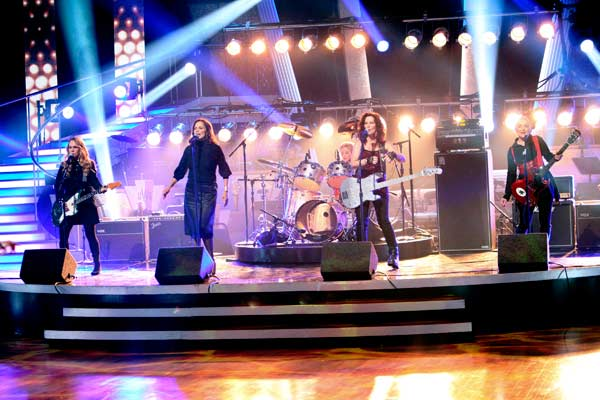 The Go-Go&#39;s had their first television performance together in over five years on Tuesday night&#39;s &#39;Dancing With The Stars&#39; season 12 finale on May 24, 2011. The group performed &#39;We Got the Beat&#39; as part of Macy&#39;s Design-a-Dance fan favorite Jive song pick. <span class=meta>(OTRC Photo)</span>