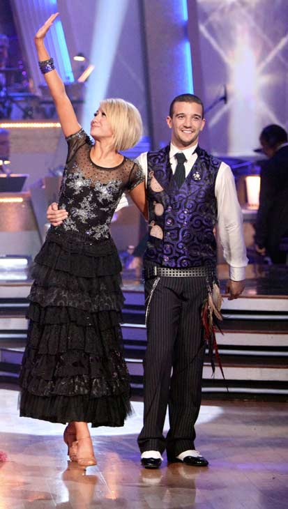 Chelsea Kane and her partner Mark Ballas came in third place. The two danced a Samba and a Freestyle dance on Monday. The judges gave the couple 29 out of 30 for their Samba and 30 points out of 30 for their Freestyle. On Tuesday, the two performed their favorite dance -- their wizard inspired Viennese Waltz. The judges gave the couple 30 out of 30. With their scores from Monday, the couple earned a total of 89 out of 90. <span class=meta>(OTRC Photo)</span>