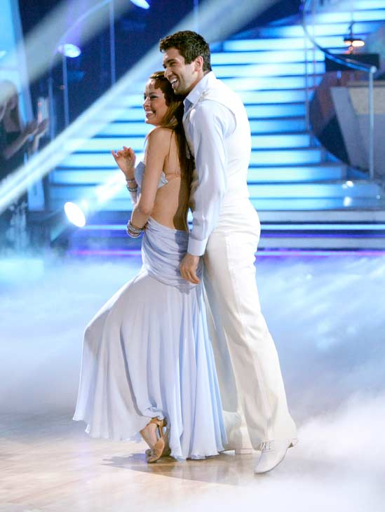 "<div class=""meta image-caption""><div class=""origin-logo origin-image ""><span></span></div><span class=""caption-text"">Petra Nemcova returned to the 'Dancing With The Stars' dance floor on the season 12 finale on May 24, 2011. (OTRC Photo)</span></div>"