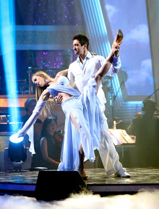 "<div class=""meta ""><span class=""caption-text "">Petra Nemcova returned to the 'Dancing With The Stars' dance floor on the season 12 finale on May 24, 2011. (OTRC Photo)</span></div>"