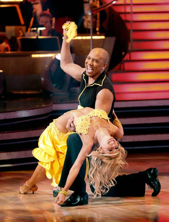 "<div class=""meta image-caption""><div class=""origin-logo origin-image ""><span></span></div><span class=""caption-text"">Hines Ward and his partner Kym Johnson performed their favorite dance -- a Samba on Tuesday. The judges gave the couple 30 out of 30. With their scores from Monday, the couple earned a total of 89 out of 90. (OTRC Photo)</span></div>"